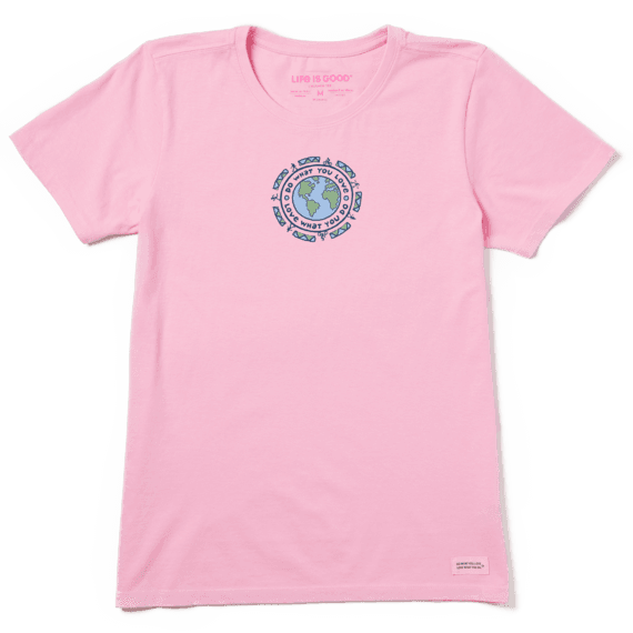 Women's DWYL Earth Vintage Crusher Tee