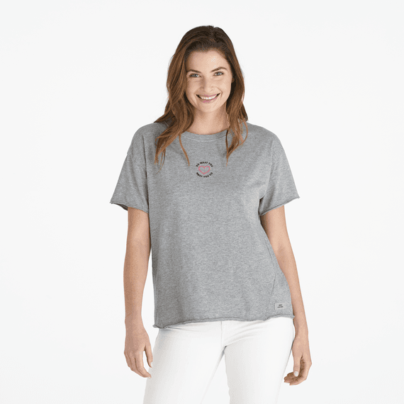 Women's DWYL Heart Ex-Boyfriend Crusher Tee