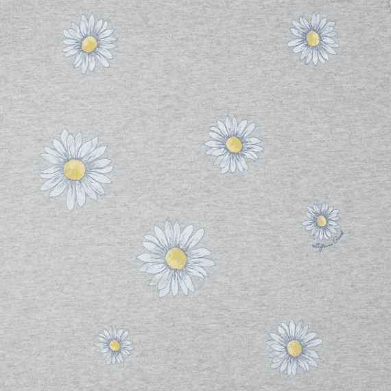 Women's Daisies Galore Long Sleeve Crusher Tee