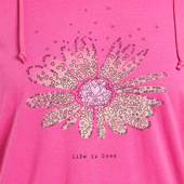 Women's Daisy Love Hooded Smooth Tee