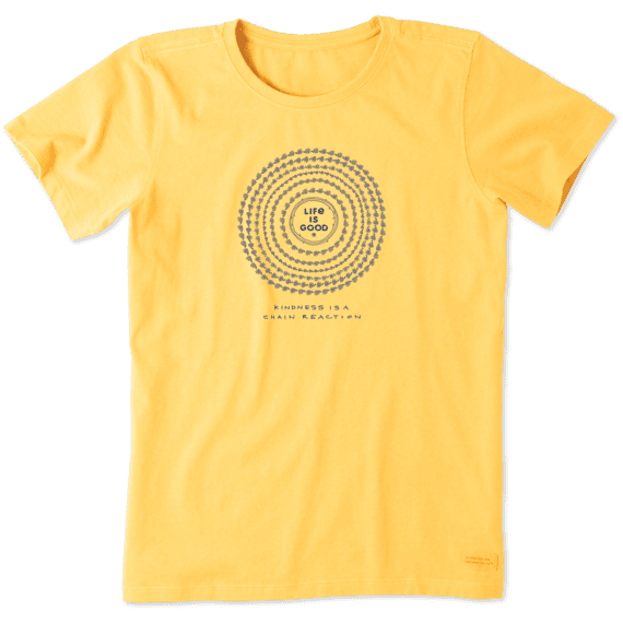 Women's Daisy Mandala Crusher Tee