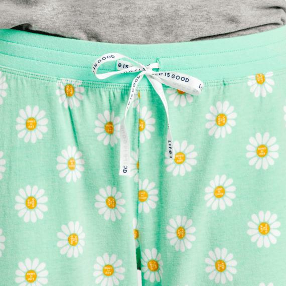 Women's Daisy Polka Dot Snuggle Up Sleep Pant