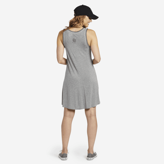 Women's Daisy Trapeze Pocket Dress