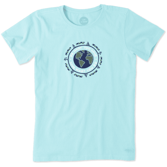 Women's Do What You Love Earth Crusher Tee