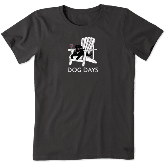 Women's Dog Days Wine Crusher Tee