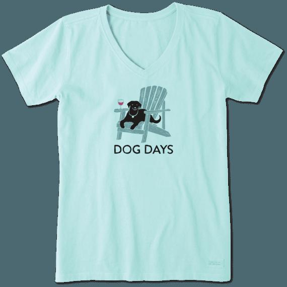 Women's Dog Days Wine Crusher Vee