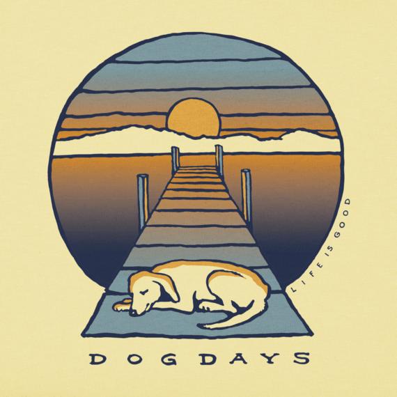 21e7302d Women's Dog Dock Days Crusher Tee