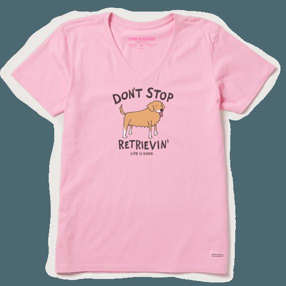Women's Don't Stop Retrievin' Crusher Vee