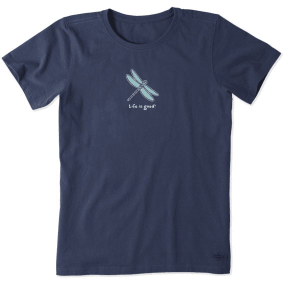 Women's Classic Dragonfly Vintage Crusher Tee