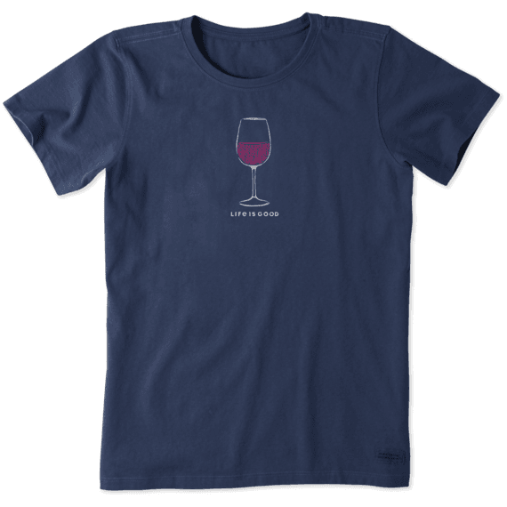 Women's Earthy Wine Crusher Tee