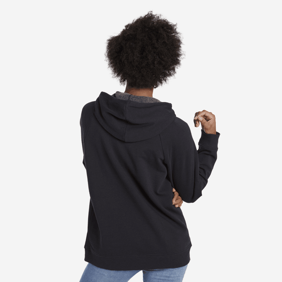 Women's Easy Perfect Good Simply True Hoodie