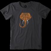Women's Elephant Crusher Tee