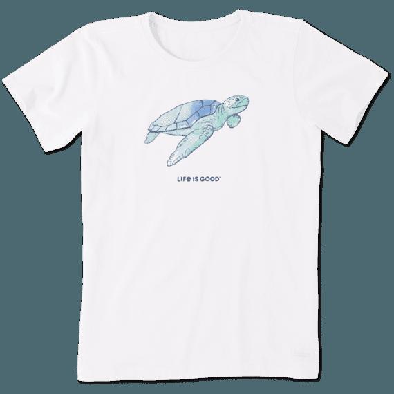 Women's Engraved Sea Turtle Crusher Tee