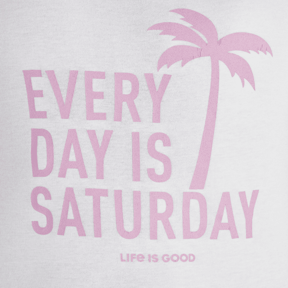Women's Every Day is Saturday Soft & Simple Fitted Tank