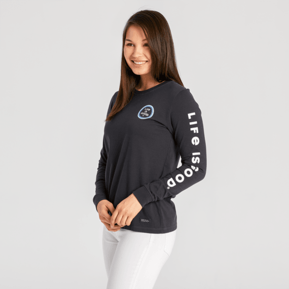 Women's Everything is a Miracle Long Sleeve Crusher Tee