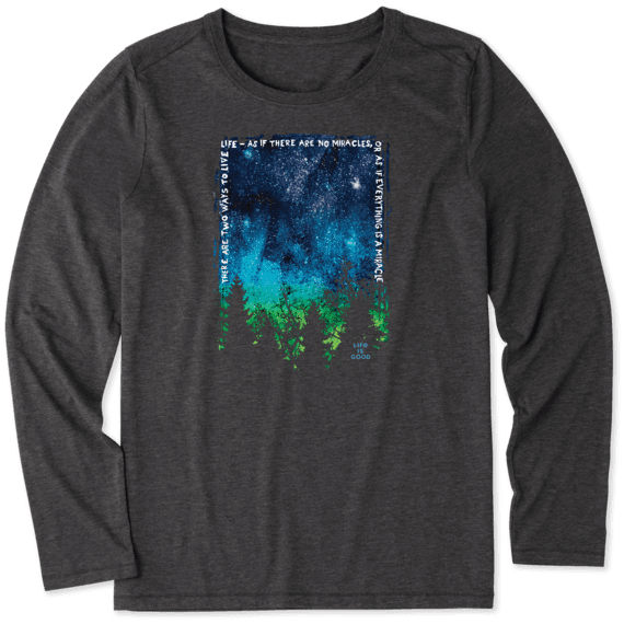Women's Everything is a Miracle Long Sleeve Cool Tee