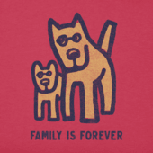 Women's Family is Forever Crusher Tee