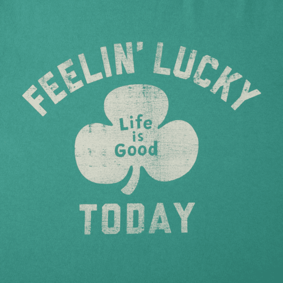 Women's Feelin' Lucky Today Crusher Tee