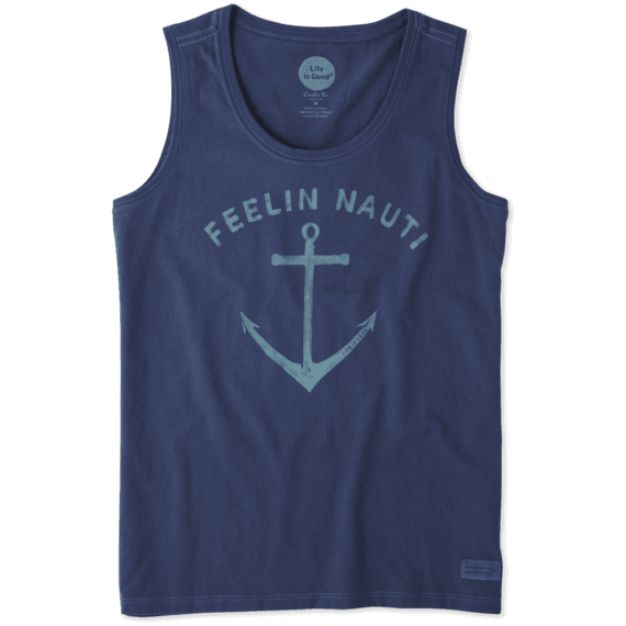 Women's Feelin' Nauti Sleeveless Crusher Scoop