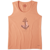 Women's Find your Anchor Crusher Scoop Tank
