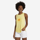 Women's Flip Flop Sun High-Low Crusher Tank