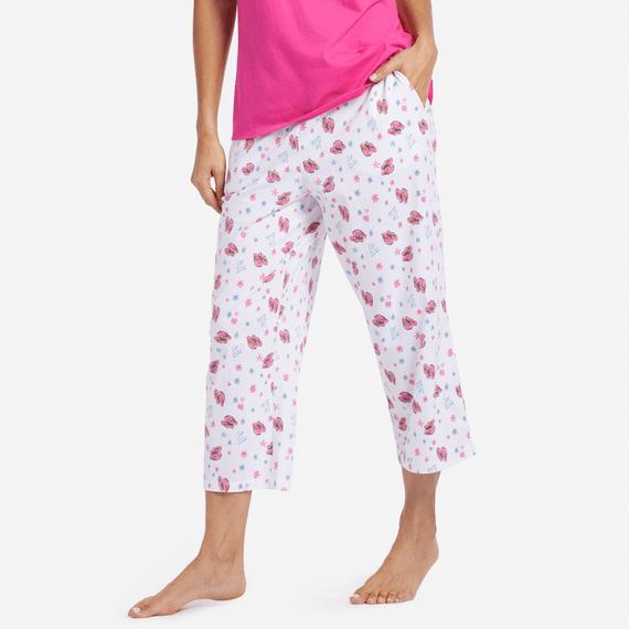 Women's Flip Flop Toss Sleep Pants