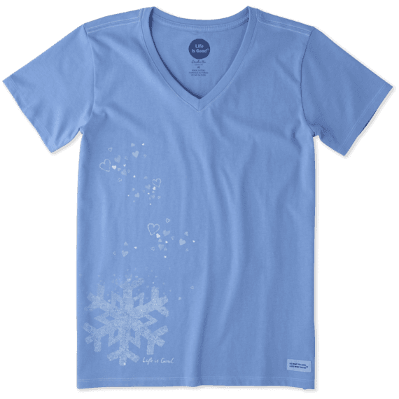 Women's Floating Snowflake Crusher Vee