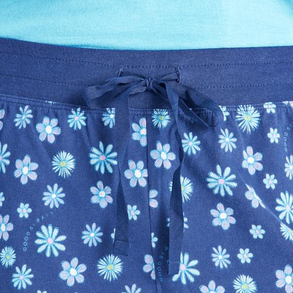 Women's Floral Element Print Sleep Short