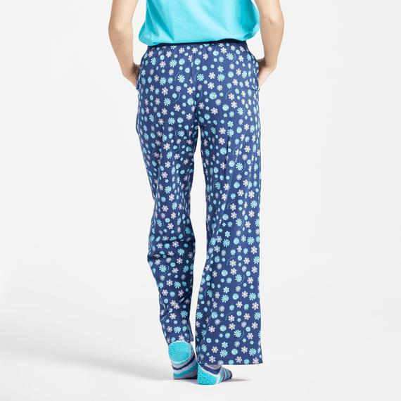 Women's Floral Element Print Snuggle Up Sleep Pant