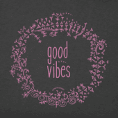 Women's Floral Good Vibes Crusher Tee