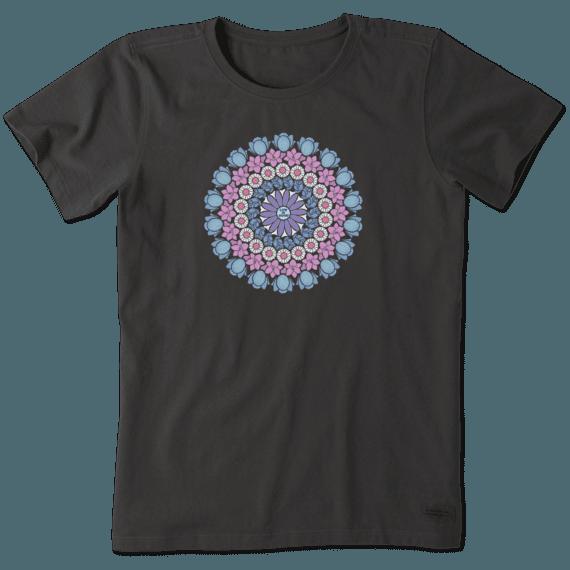 Women's Floral Mandala Crusher Tee