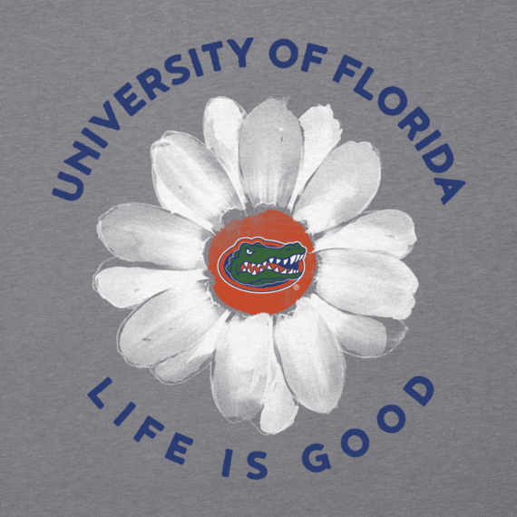 Women's Florida Daisy Long Sleeve Cool Vee