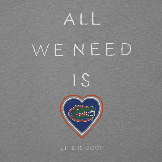 Women's Florida Gators All We Need Heart Cool Vee