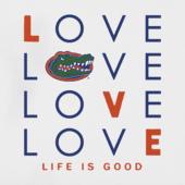Women's Florida Gators Love Stack Sleeveless Tee