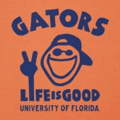 Women's Florida Gators Peace Jake Cool Vee