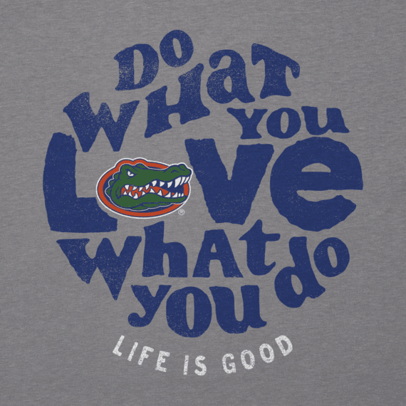 Women's Florida Gators Retro Dwyl Circle Long Sleeve Cool Vee
