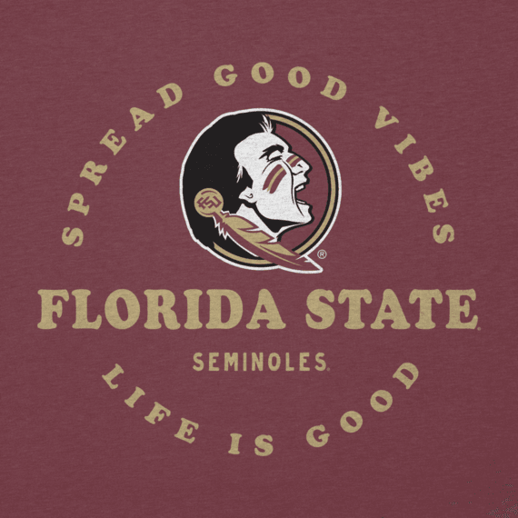 Women's Florida State Good Vibes Long Sleeve Cool Vee