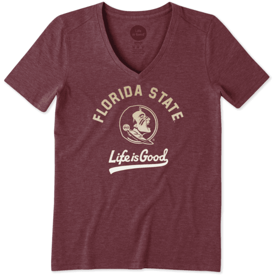 Women's Florida State Gradient Tailwhip Cool Vee