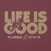 Women's Florida State Life is Good Cool Vee