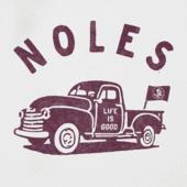 Women's Florida State Vintage Truck Long Sleeve Cool Vee