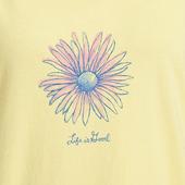 Women's Flower Icon Watercolor Sleep Dress