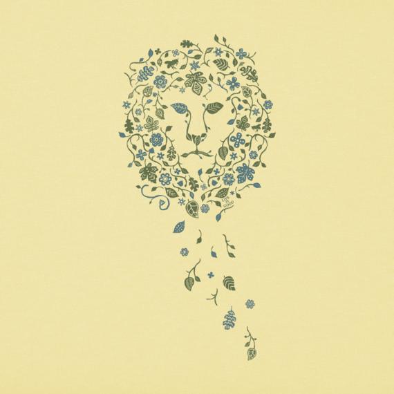 Women's Flower Lion Crusher Tee