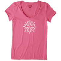Women's Flower Power Smooth Tee