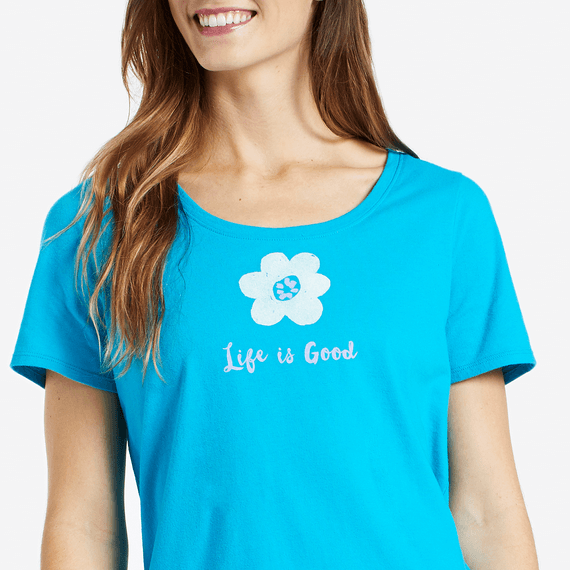 Women's Flower Snuggle Up Sleep Tee