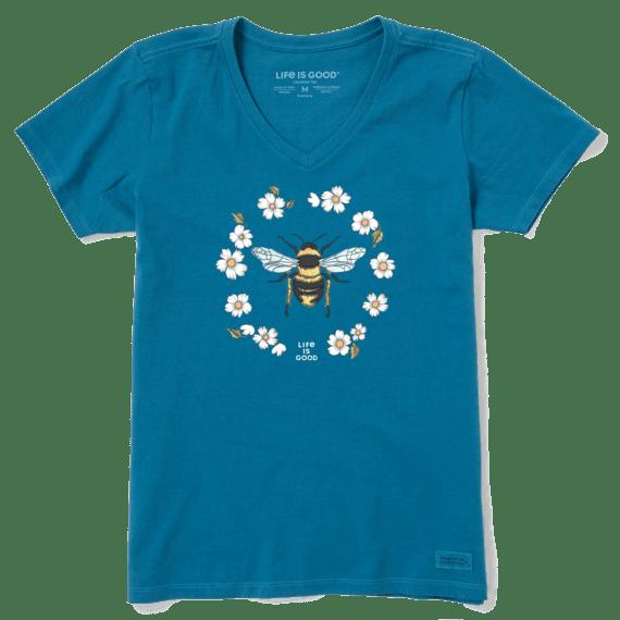 Women's Flowerbee Crusher Vee