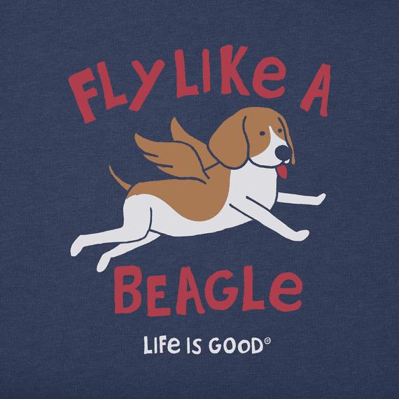 Women's Fly Like A Beagle Crusher Tee