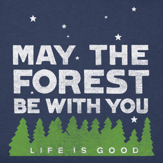 Women's Forest Be With You Crusher Tee