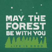 Women's Forest Be With You Long Sleeve Crusher Vee