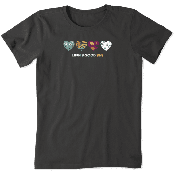 Women's LIG 365 Hearts Crusher Tee