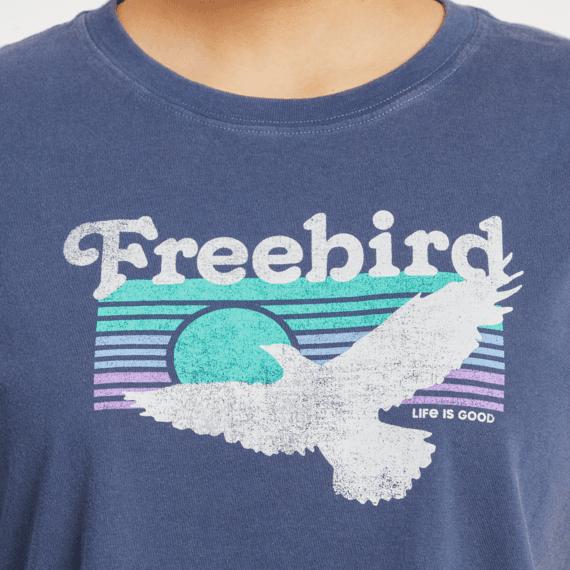 Women's Free Bird Boxy Crusher Tee